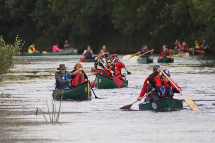 The Big Bann Canoe Challenge