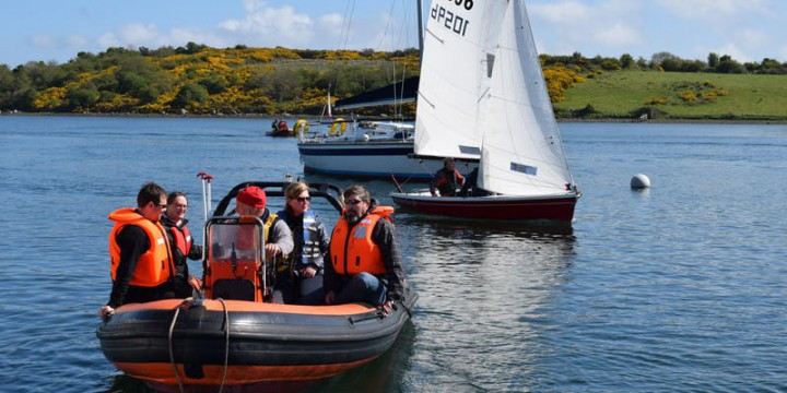 Push the Boat Out – Try Sailing and kayaking