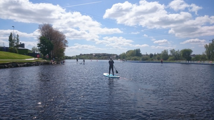 Stand Up Paddleboarding with Erne Paddlers