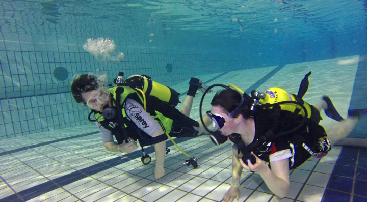 Try Sub Aqua Diving in Lisburn Swimming Pool