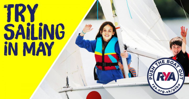 Push the Boat Out - Try Sailing Taster Day with Lough Neagh Sailing Club