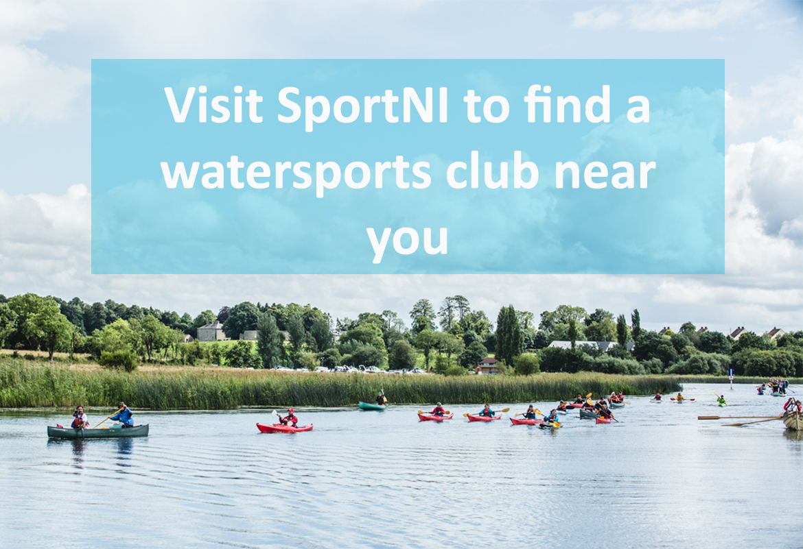 visit SportNI to find a watersports club near you
